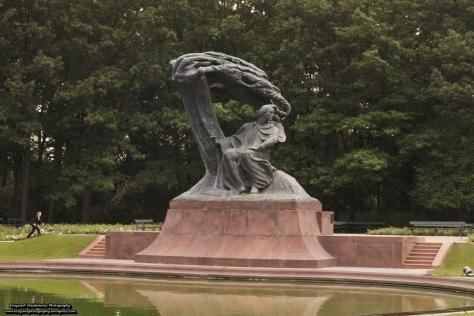 Pomnik Fryderyka Chopina.
